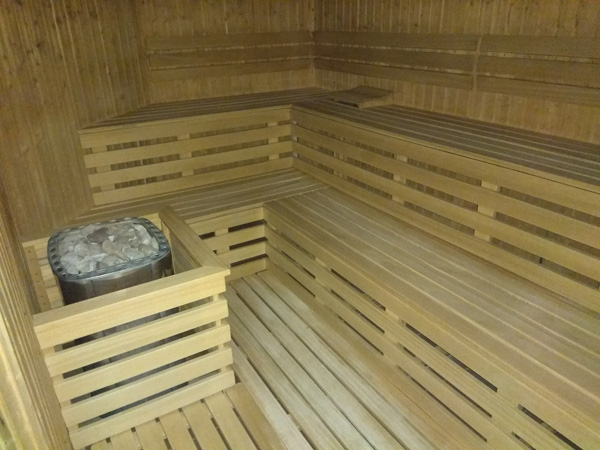 Sauna fińska w Aqua Centrum Chełmiec
